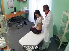 Hot vixens check up turns into fucking