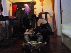 Vero slave dominated by Mistress Vero Rua