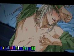 Hentai gay man anal juice fucked
