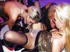 Hot model sex in public