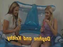 Piss loving lesbians play wet and dirty