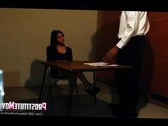 Prostitute facial in the interrogat