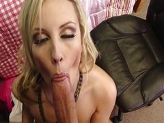 Horny housewife bj