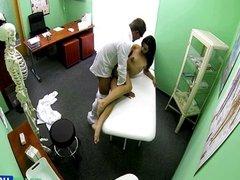 College chick Ferrera sexual examination