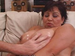 Big Boobed Latina Wife Fuck Training!