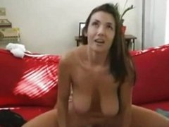 Housewife Drilled Hard And Gets Facialized