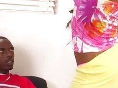 Pretty ebony Maie Luv is always a treat
