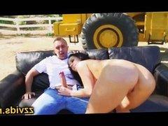 Jayden Jaymes outdoor anal fuck