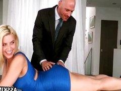 Round ass Annika Albrite