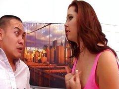 Dirty Wife humiliate her husband