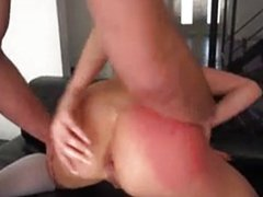 sexy blond Bailey Blue having anal sex !