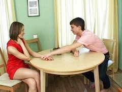 Table sex for bounded teen