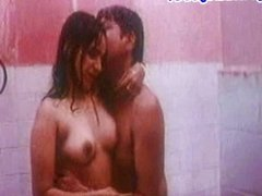 Mallu Reshma under shower