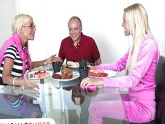 Vanessa Cage lets her stepmom join in