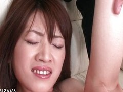 Asian ass and pussy fingered