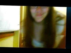 Horny Teen on webcam
