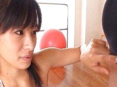 Hana Haruna Sweet real asian model