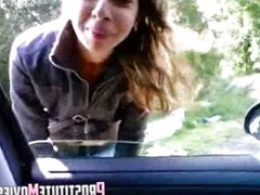 Street hooker Romanian Blowjob