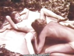 Couple Fucking Outdoors in a Picnic
