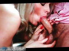Horny blonde wants to fuck with big cock