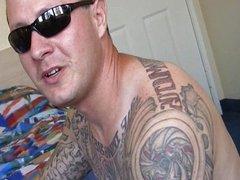Latin thug with a big dick fucking