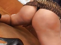 slut blonde shemale fucked by hairy man