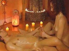Gently Massage The Erect Penis