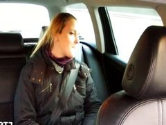 Anal in taxi