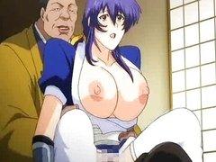 Hentai babe enjoys pussy fucking