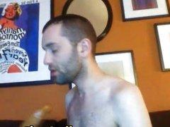 Huge gay anal dildo