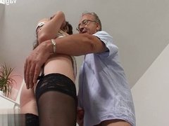 Natural tits wife pussytomouth