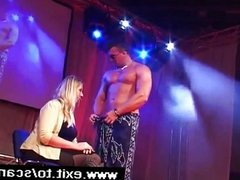 Sensational Public Blow Job of male stripper