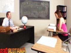 Nadia Gets Naughty with Professor