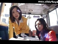 Japanese Bus Girls In Uniform - Public 180287