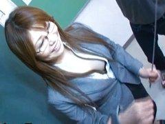 Karen Natsuhara Busty Asian babe