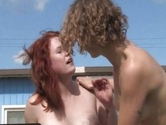 GirlsOutWest - Hairy lesbians Jette and Kara