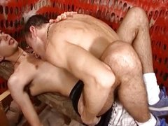 Gay sex break at constriction site
