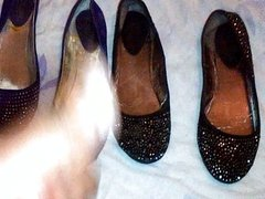 Purple & Black Diamond Flats Get It Together!