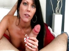 Black haired hottie Jade fucked sideways