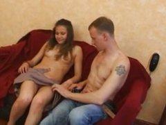 Russian Shy Teen First Scene