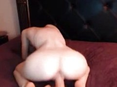 Big Boobs Redhead Fucking Huge Fake Cock