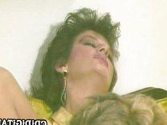 Hot 80s babe Sharon Mitchell fucked