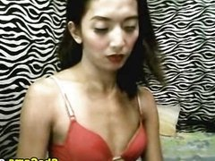 Slim Asian Shemale Puts on a Sexy Striptease