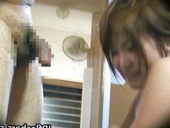 Free jav of Lovely Asian girl enjoys