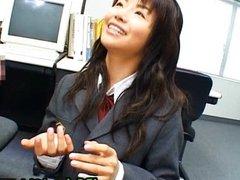 Akane Hotaru gives a hot blowjob 6