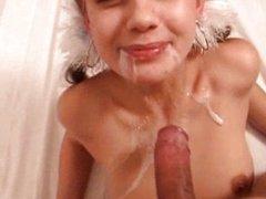 Orgazm w ustach