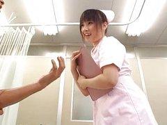 Azusa Nagasawa Hot Asian nurse has nice