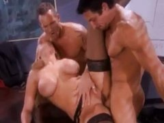 Alanah Rae works two cocks a time