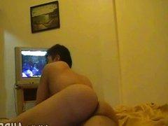 Amateur boys videotape their dirty gay fornic