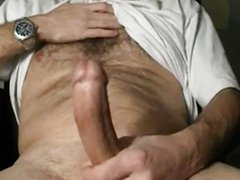 long dick cum shot
